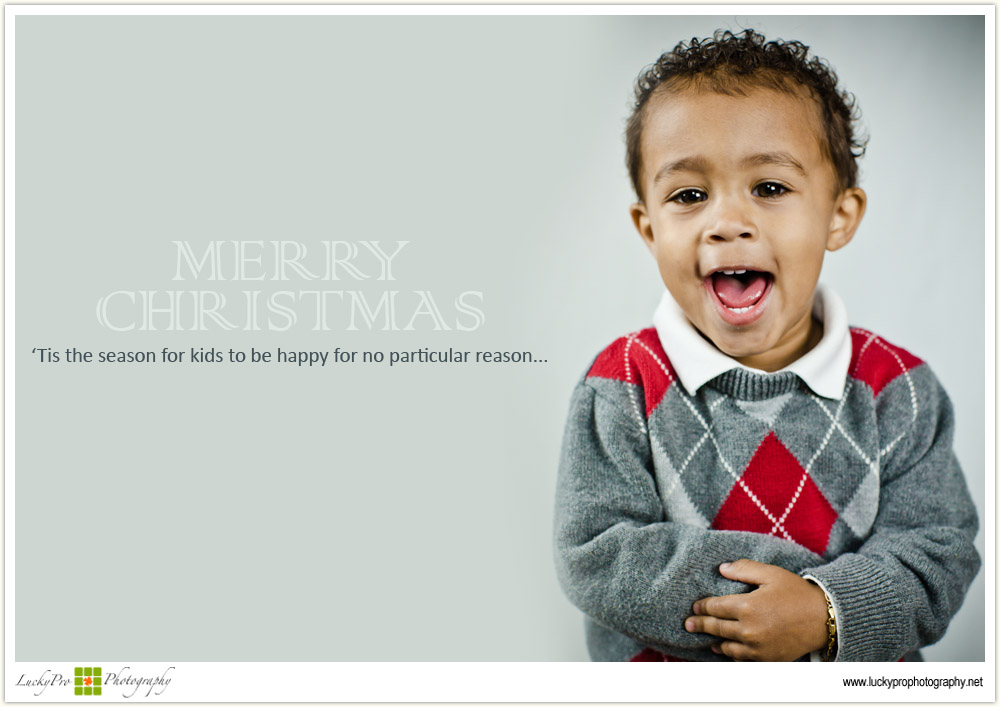 Merry Christmas from Lucky Pro Photography